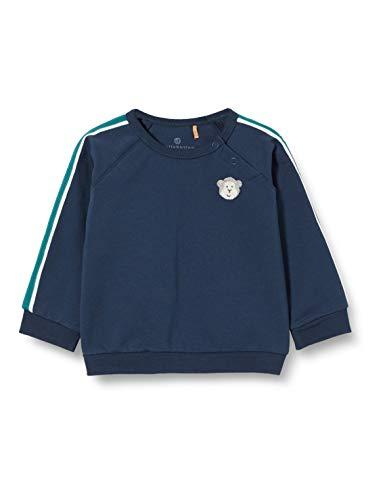 Bellybutton mother nature & me Baby-Jungen Sweatshirt T-Shirt, Mood Indigo|Blue, 50