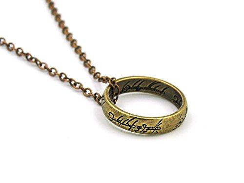 KeySmart Herr der Ringe Halskette mit Ring Anhänger