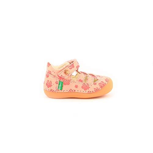 Kickers Baby Mädchen SUSHY Mary Jane Schuh, Rose Flower, 22 EU