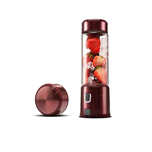 ECSWP Portable Juicer, Travel Personal USB Mixer Juice Cup with Updated 6 Blades and More Powerful Motor