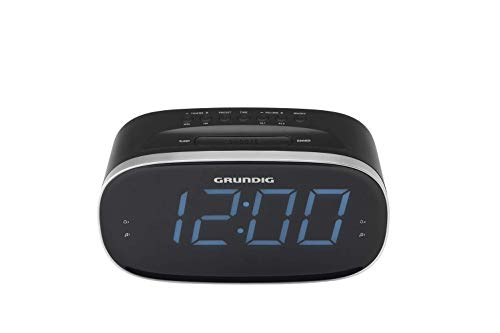 Grundig SCN340 - Radio (Reloj, Digital, Am,FM, 87,5-108 MHz, 2 W, LED), Compacto