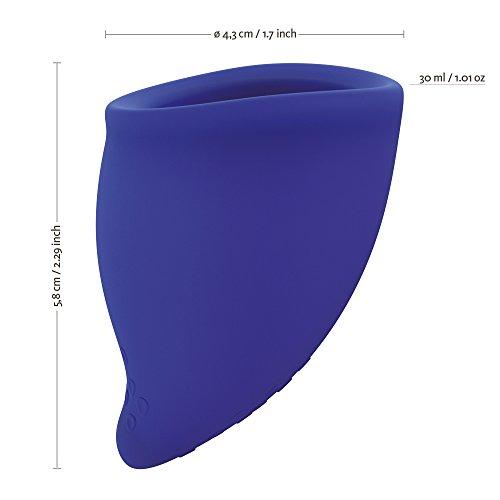 FUN FACTORY FUN CUP EXPLORE KIT – Zwei Menstruationstassen für starke und schwache Blutung inkl. Tasche - 3
