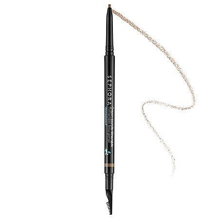 Retractable Brow Pencil-waterproof Sephora 0.003 Oz 02 Nutmeg Brown