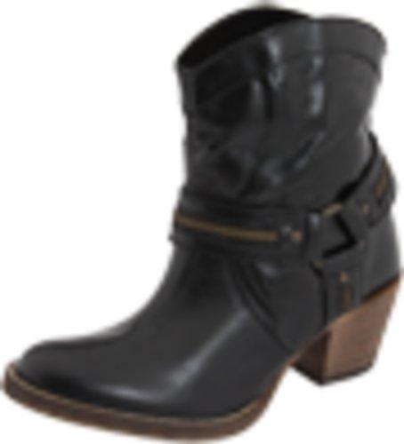 Dingo Women's Metro Boot, Black, 7.5 M US