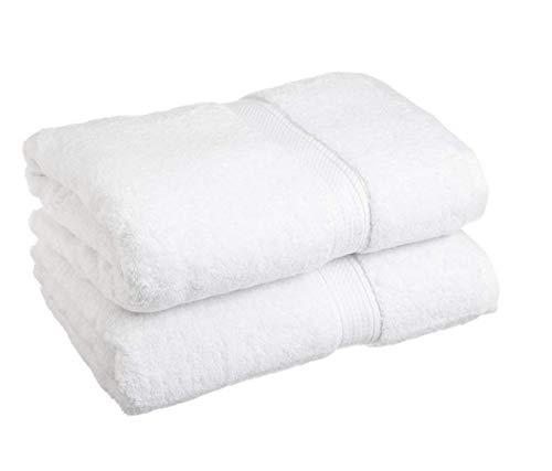 2 Pack zacht water wafel weven oversized bad handdoeken 30x56 zwart