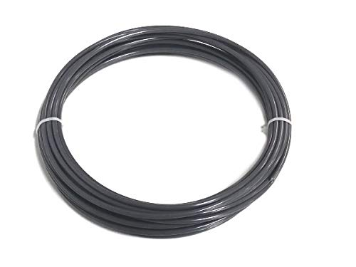 Kunststoffschweißdraht PVC-U hart 4mm Rund Grau 10 m