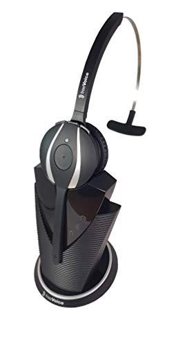 freeVoice Fox UC MS Mono NC (DECT, USB), FX840UCM, drahtlos für Softphones, schnurloses Profi-Headset mit DECT-Verbindung und online Präsenz Anzeige. Profi Headset für das Call Center und Büro