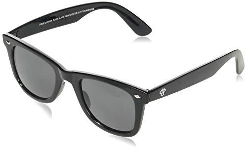 CHPO Noway Gafas de sol, Negro (Black/Black), 48 Unisex Adulto