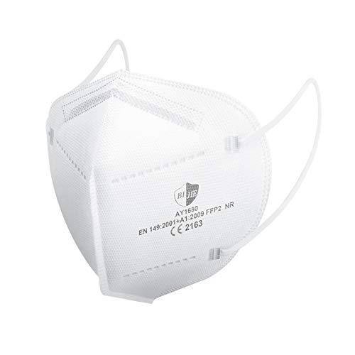 Maske FFP2 - SOYES 5-lagige KN95 Maske- 20 Stück Staubschutzmaske - Mundschutzmaske EN 149 CE Zertifizierte Gesichtsmaske