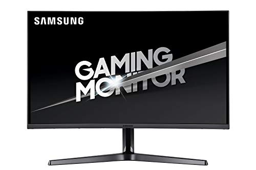 Samsung Monitor C32JG52 Monitor da Gaming Curvo da 32'', pannello VA, WQHD, 2560x1440, 1800R, 4 ms, 144 Hz, 2 HDMI, 1 Display Port, Nero