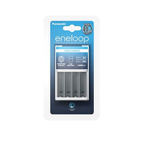 Panasonic Eneloop SY3056676 ENELOOP SY3056676-Cargador BQ-CC51, sin baterías, Multicolor