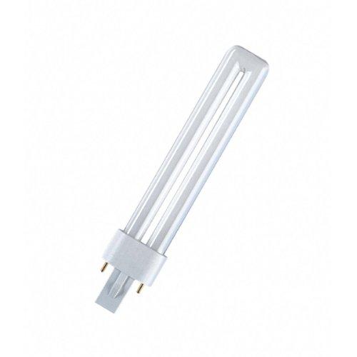 OSRAM Lampe fluo compacte DULUX S 220-240V Culot G23, 7 W 827 Interna