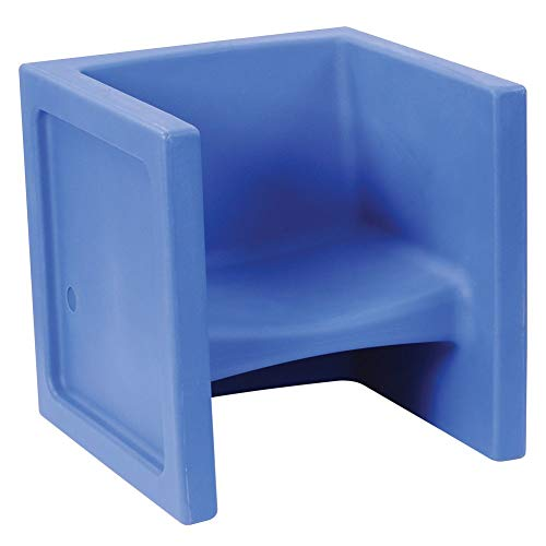 Kaplan Early Learning Cube Chair - Dark Blue