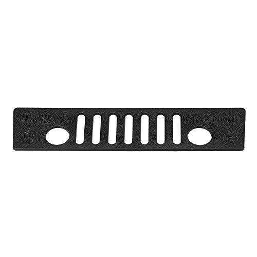 Docooler Third Brake Light Covers Black for Jeep Wrangler JK 2007-2016