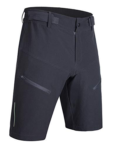 AJISAI Pantalones cortos de ciclismo para hombre MTB bicicleta al aire libre resistentes al agua bolsillos M