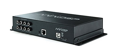 miniDSP C-DSP 6x8 Boxed Digital Audio Processor for Mobile/Car audio