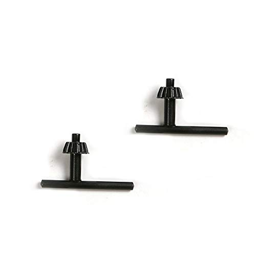 ROSNEK Chuck Key 13mm Pilot 11 Teeth 2PCS Drill Key Replacement Hand Drilling Power Tools Accessories