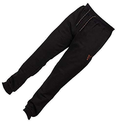 Fox Collection Black Orange Jogger - Angelhose, Größe:M