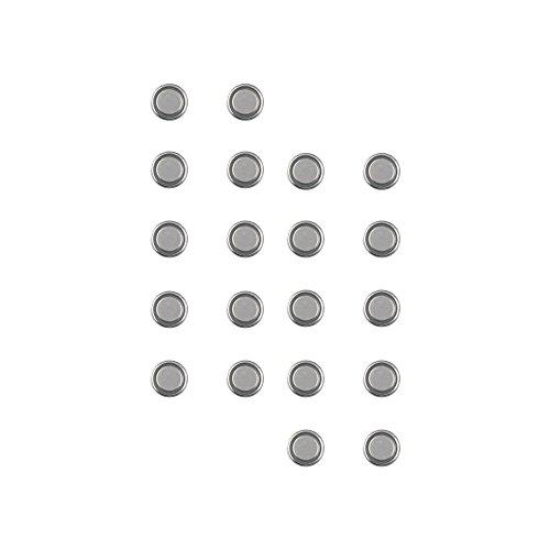com-four® Alkaline Batterie 1,5V Knopfzelle LR 63 ohne Quecksilber (AG0-20 Stück)