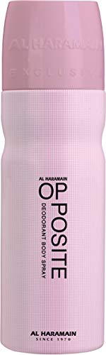 Al Haramain parfum Opposite Pink Deodorant Body Spray, per stuk verpakt (1 x 1 stuks)