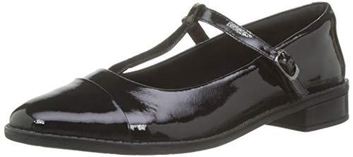 Clarks Drew Shine, Damen Lauflernschuhe, Schwarz (Black Patent Leather), 42 EU (8 UK)