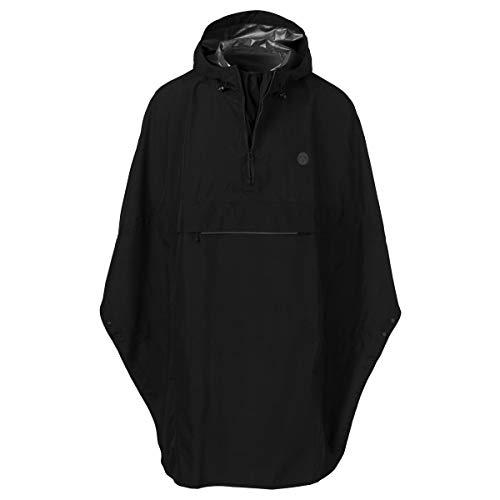 AGU Grant Regenponcho Essential - Zwart - One Size