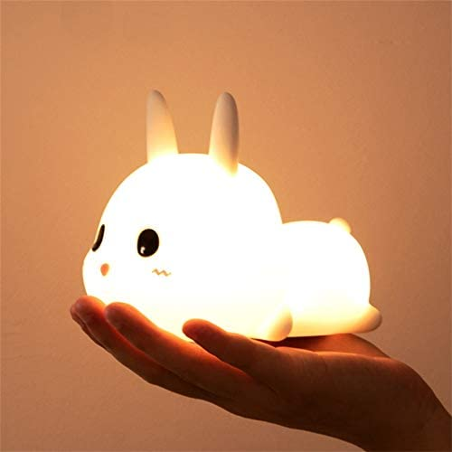 Bunny Silicone Night Light Rabbit Shipping included Led Lamp outlet Charging Animal USB C