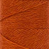 WonderFil Specialty Threads Sue Spargo Ellana 28wt wool/acrylic thread, 47 Pumpkin