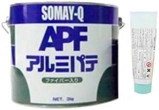 SOMAY-Q アルミパテファイバー入り 3kg(硬化剤60g付) APF