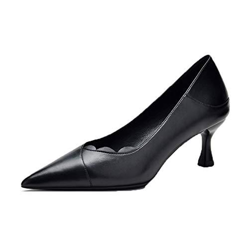 Zapatos de tacón Alto con Punta Puntiaguda para Mujer, Zapatos de Corte Elegantes para Primavera y otoño, Zapatos de Vestir para Fiesta de Noche, Bombas clásicas