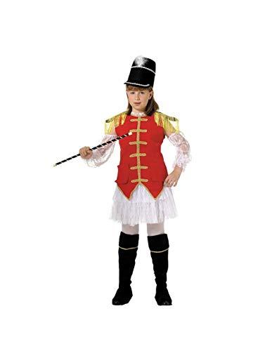 DISBACANAL Disfraz majoret niña - -, 4 años
