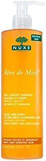 Nuxe Reve De Miel Face and Body Ultra-Rich Cleansing Gel, 400ml