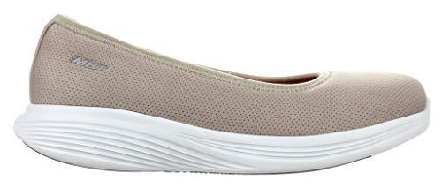 MBT Hana, Zapatos Planos Mary Jane Mujer, Gris, 38 EU