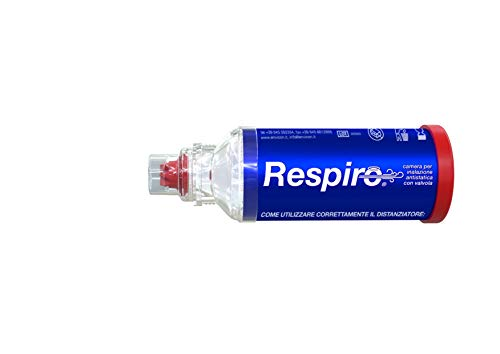 Respiro® Antistatik-Kammer mit Envicon® Medical Ventil