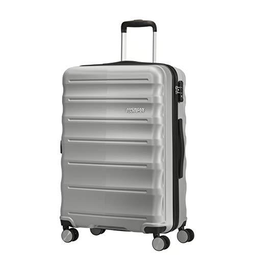 American Tourister MTO Speedlink 4 Wheel Medium Suitcase - 67cm - Silver
