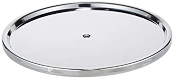 Dial Industries Lazy Susan Stainless Steel Turntable Organizer Single Tier