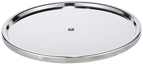 Dial Industries Lazy Susan Stainless Steel Turntable Organizer, Single Tier