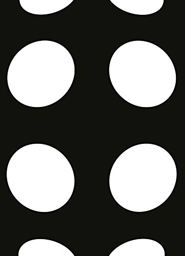Wizard + Genius 5007-2P-1 fotobehang stippen, zwart/wit Inverted