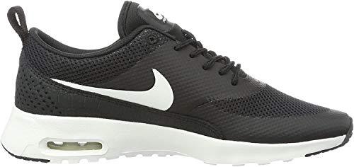 Nike Damen Wmns Air Max Thea Lotc Qs Turnschuhe, Negro (Black / Black-White), 36.5 EU
