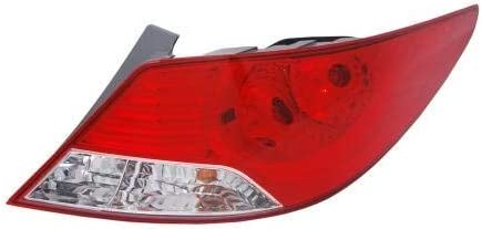 Go-Parts - for 2012 2014 Hyundai A Light 実物 Rear 流行 Lamp Tail Accent