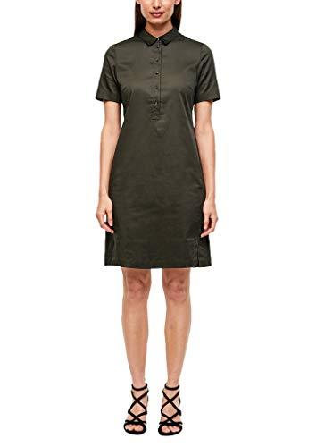 s.Oliver BLACK LABEL Damen Leichtes Hemdblusenkleid Khaki 40