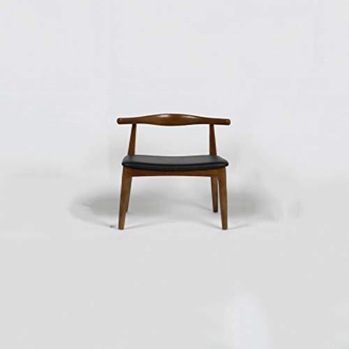 Kruk massief hout hoorn stoel Nordic dining stoel eenvoudige bureaustoel Chinese rug chairoffice zakelijke partners Chair