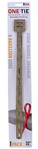 ワンタイ(One Tie) アウトドア 多機能 ストラップ 32インチ(80cm) 1本入り カモ 【日本正規品】 62018