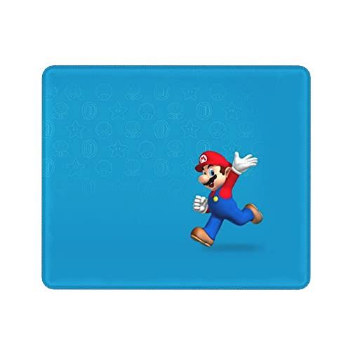 Juego de dibujos animados Super Mario Mouse Pad Mat de gran tamaño antideslizante almohadillas de goma inferiores ultrafinas para oficina y hogar