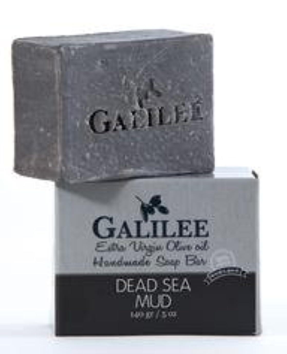 ナプキンシャトル抽象ガリレー フェイシャルオリーブオイル&死海の泥ソープ 140g