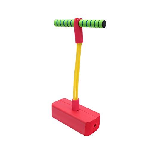 LIOOBO Pogo Jumper Pogo Stick Kinder Pogostick Sicher Hüpfstab Springstock Kinderspiel Langlebig Schaum...