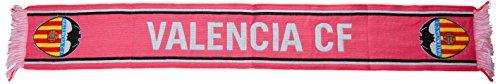 Valencia CF Bufvcf Bufanda Telar, Rosa, 140 x 20 cm
