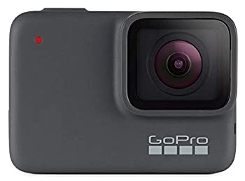 GoPro HERO7 Silver + PNY Elite-X 32GB microSDHC Card Adapter-UHS-I U3 - Waterproof Digital Action Camera with Touch Screen 4K HD Video 10MP Photos Live Streaming Stabilization
