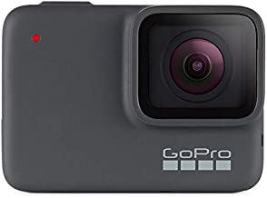 GoPro HERO7 Silver + PNY Elite-X 32GB microSDHC Card Adapter-UHS-I, U3 - Waterproof Digital Action Camera with Touch Screen 4K HD Video 10MP Photos Live Streaming Stabilization