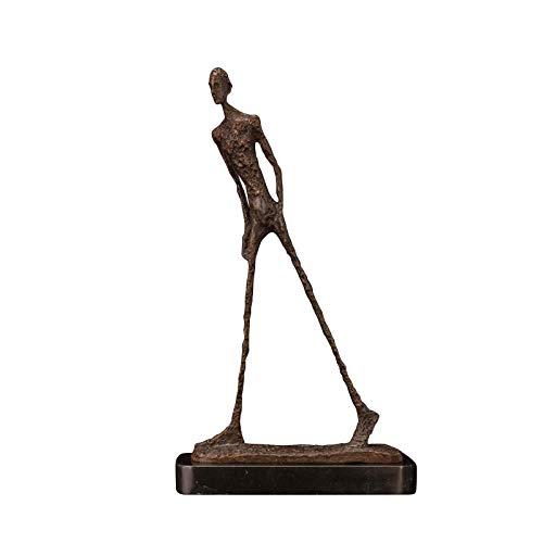 LOSAYM Statuen Dekoartikel & Figur Skulpturen Figuren Statuen Dekoartikel Skulpturen Figuren Giacometti Bronzeskulptur Abstrakte Wandelnde Mannstatue Dekorative Skulptur